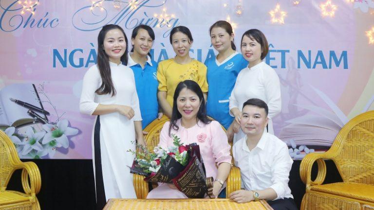 慶祝越南教師節11月20日