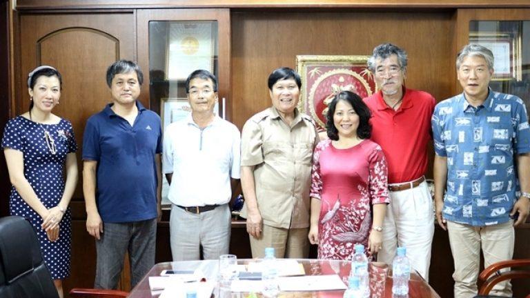 長野県の介護の監理団体の代表者を歓迎。
