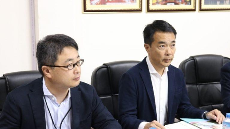 Lãnh đạo Công ty tiếp đoàn công tác hệ thống trường Anabuki – Nhật Bản