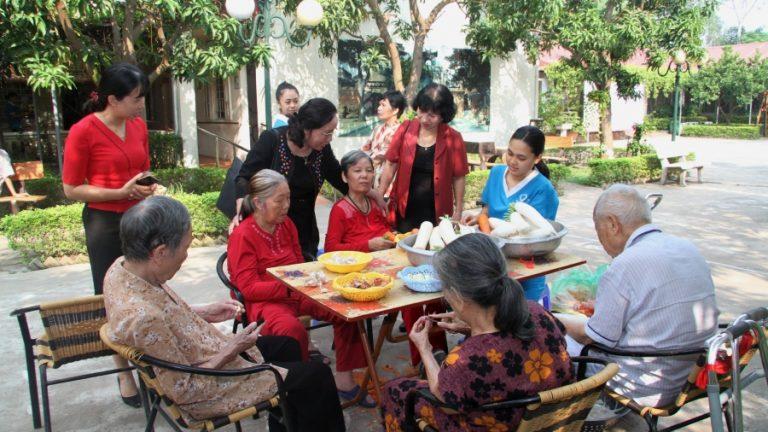 2016年10月21日ベトナム高齢者中央協会の代表団の歓迎