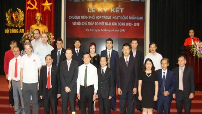 Công ty cổ phần quốc tế Nhân Ái với hoạt động nhân đạo