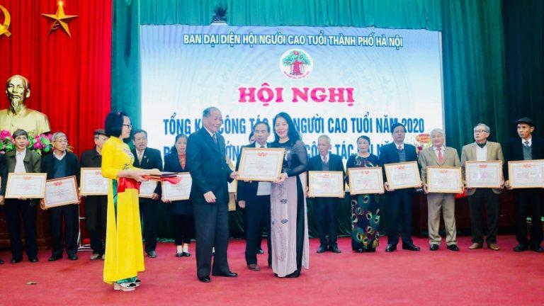 Tổng kết công tác Hội Người cao tuổi năm 2020 của Ban đại diện hội Người cao tuổi thành phố Hà Nội